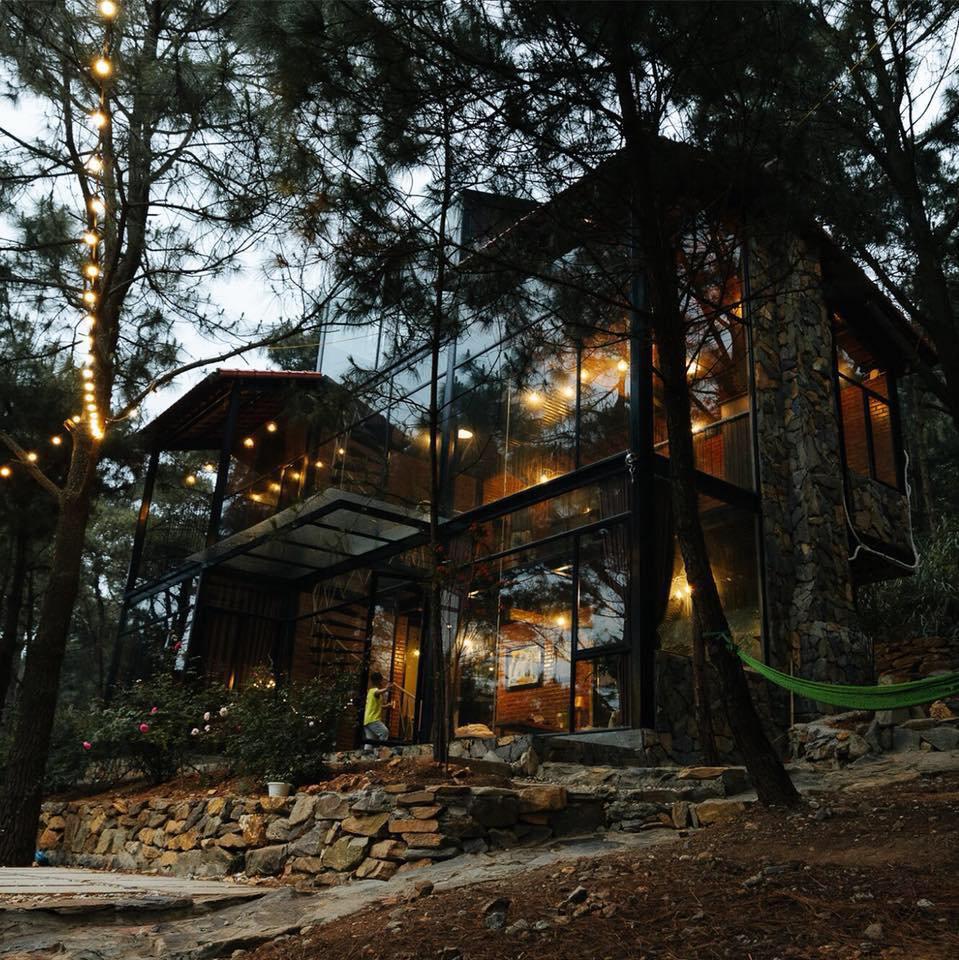 Một góc ảnh The Moonlight khu nghỉ dưỡng gần Hà Nội cho cặp đôi